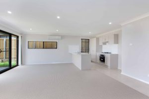 Macquarie Knight Constructions – open plan living and dining