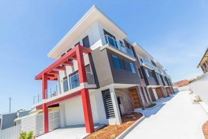 Macquarie Knight Constructions – townhouse exterior