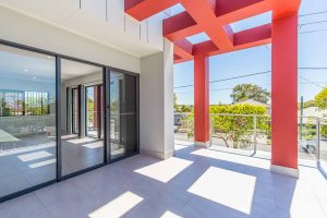 Macquarie Knight Constructions – townhouse balcony