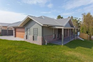 Macquarie Knight Constructions – house & attached granny flat