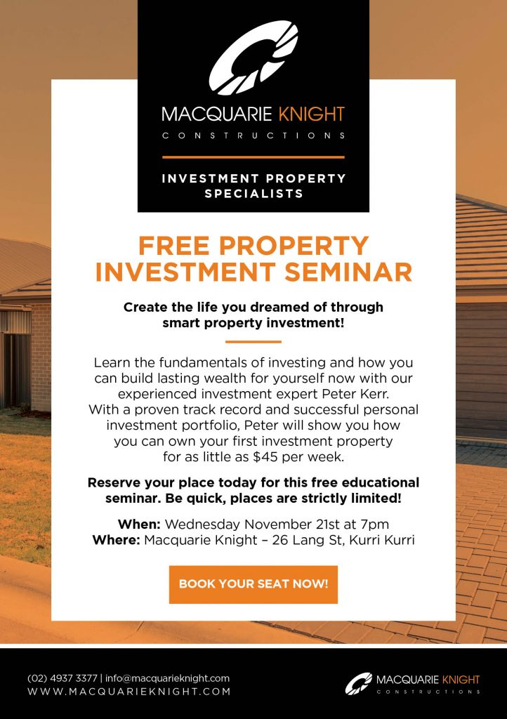 Property Investment Flyer